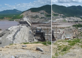 Media and Nile Basin stakeholders' visit to the Grand Ethiopian Renaissance Dam (GERD)