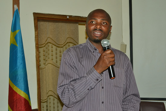 Mr. Elias Paluku TAHAWASIMA, the DRC NDF National Technical Support Expert