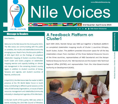 A Feedback Platform on Cluster1 - Nile Voices, 2nd Release 2015